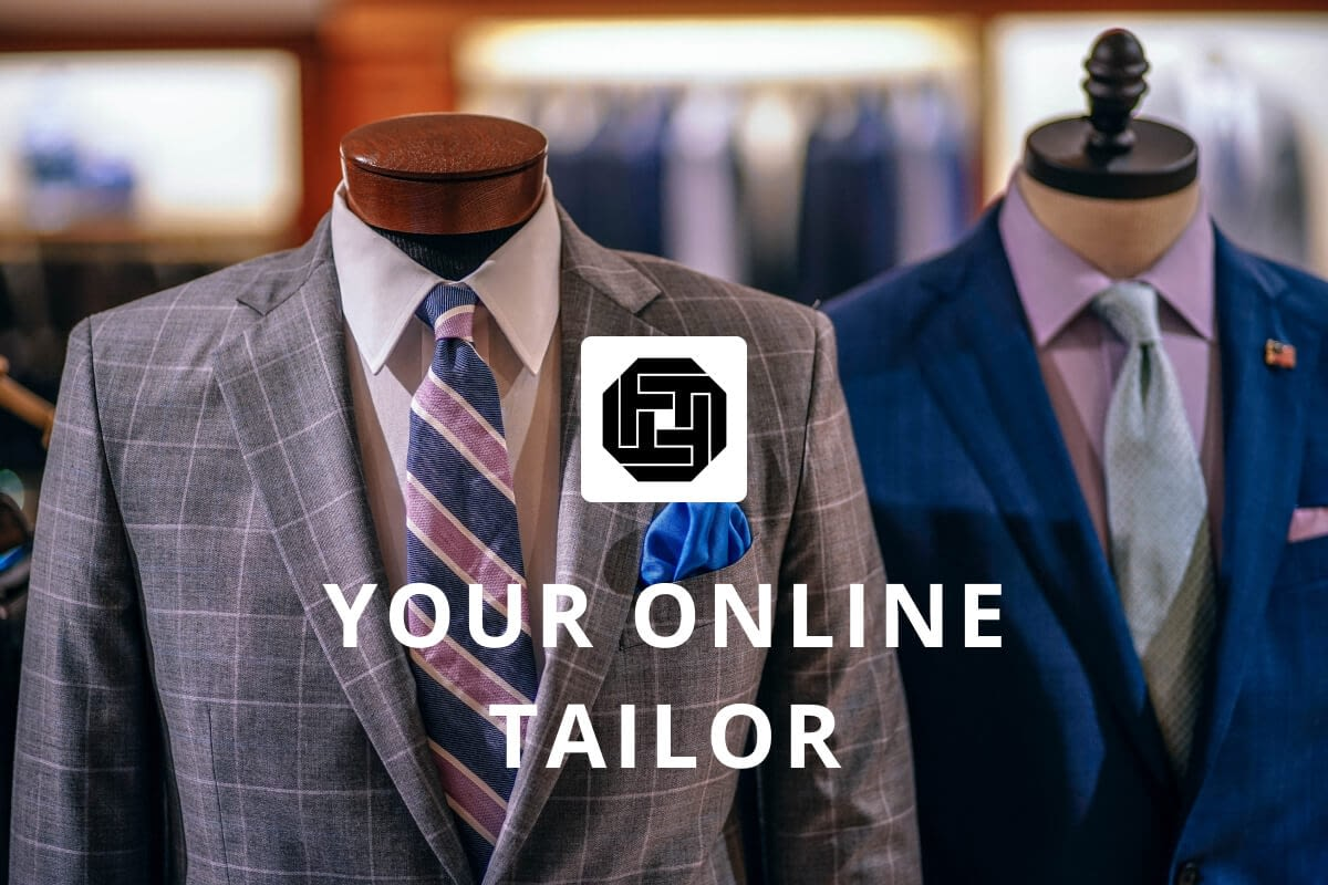 Fabric Tailor Brand Identity Design Thumbnail