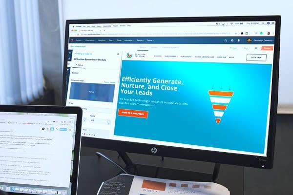 Lead Capture Page Design