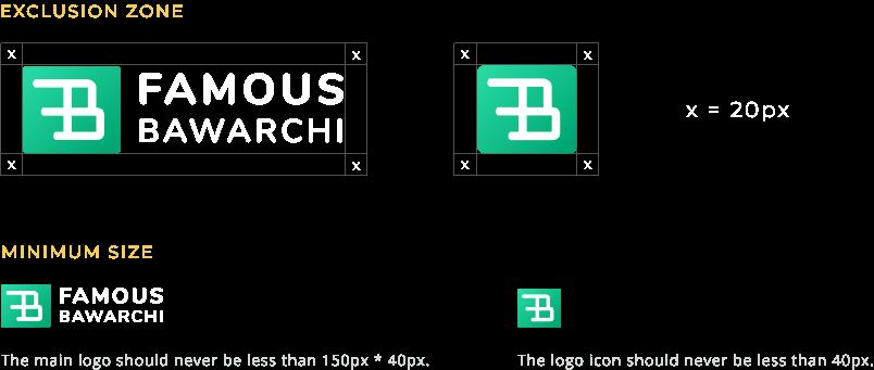 Famous Bawarchi Logo Guidelines