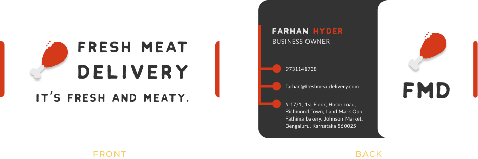 Fresh Meat Delivery Card